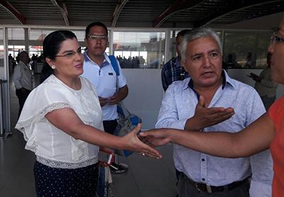 arribo-ministra-Lorena-Tapia