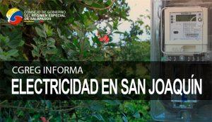 Electricidad en San Joaquin
