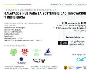 Invitacion HUB Galapagos